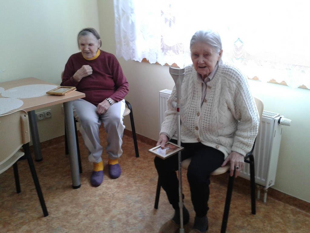Поздравления в домах престарелых